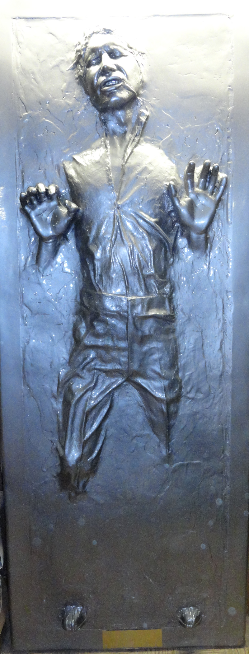 Han Solo Frozen in Carbonite Illusive Concepts Life Sized